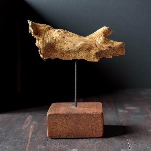 Raiz de madera de haya Grito