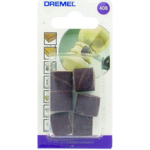 Pack de 6 bandas de lijar (13 mm, grano 60) para Dremel