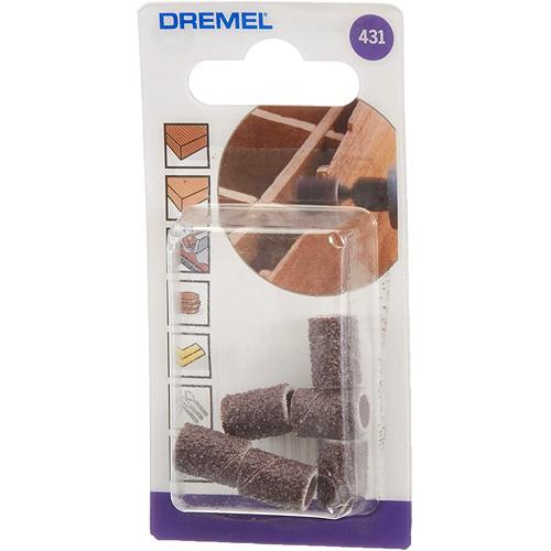 Pack de 6 bandas de lijar (6,4 mm, grano 60)