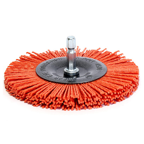 S&R Cepillo Circular de Nylon