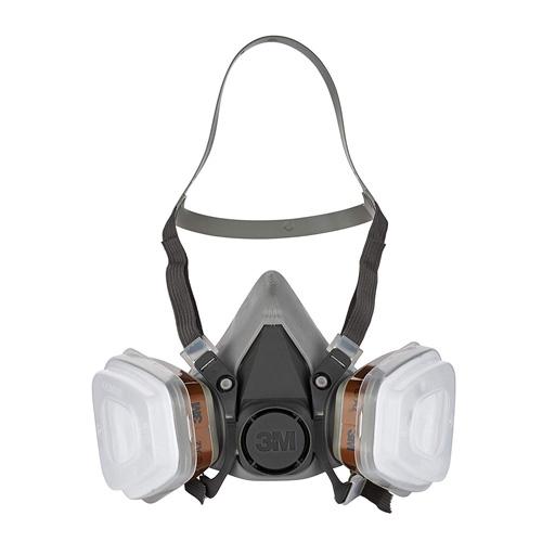 Media máscara de seguridad 3M